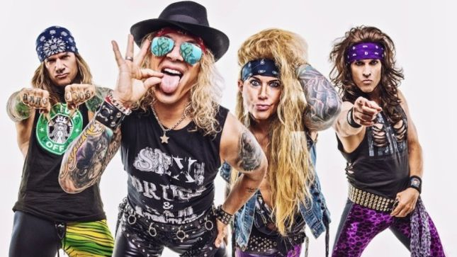 "STEEL PANTHER Talk Heavy Metal Culture - ""You Can Just Be Free About Your Super-Freakiness And Get Your Weird On"" (Video)"