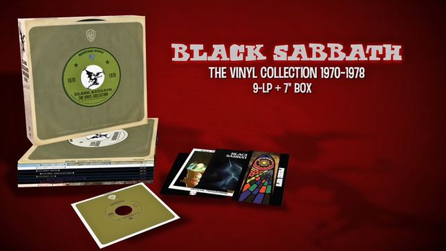BLACK SABBATH - The Vinyl Collection 1970 - 1978 Unboxed; Video