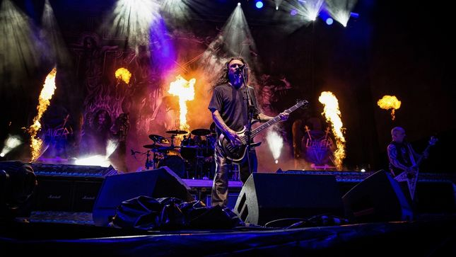 SLAYER To Release The Repentless Killogy Motion Picture, And The Relentless Killogy (Live At The Forum In Inglewood, CA) LP/CD; Video Trailer