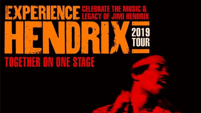 JOE SATRIANI, BILLY COX Invite You To Experience Hendrix 2019 Tour; Videos