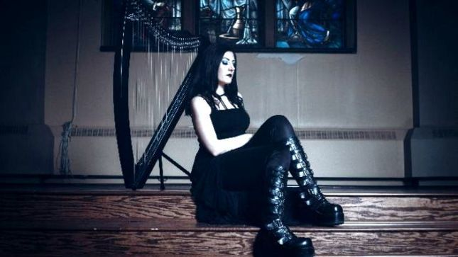 CRADLE OF FILTH Keyboardist / Vocalist LINDSAY SCHOOLCRAFT's New Solo Album Streaming Via Spotify; Limited Edition Storybook Digipack Featuring Two Bonus Tracks Available