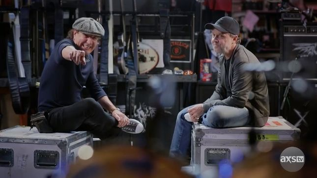 "METALLICA's LARS ULRICH Remembers Touring With AC/DC On Brian Johnson's A Life On The Road – ""We Were In Heaven"""