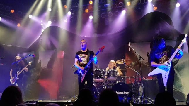 ANNIHILATOR - Fan-Filmed Video From UK / European Tour Kick-Off Show Posted