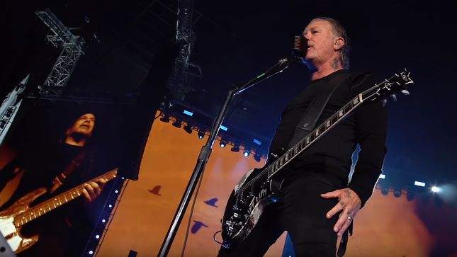 "METALLICA Release ""For Whom The Bell Tolls"" Pro-Shot Performance Video From Berlin"
