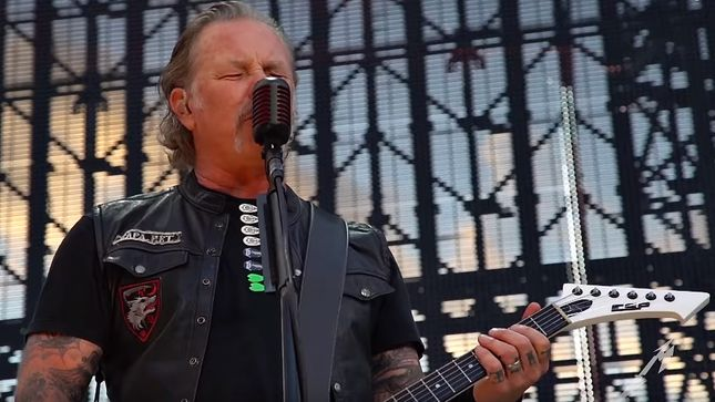 "METALLICA Posts ""The God That Failed"" Pro-Shot Performance Video From Gothenburg"