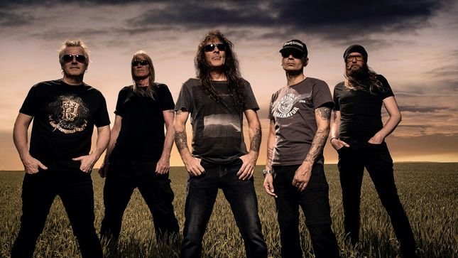 "BRITISH LION Feat. IRON MAIDEN Bassist STEVE HARRIS Premier ""The Burning"" Music Video"