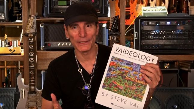 STEVE VAI - Vaideology Music Theory Book Now Available In Italian And Japanese