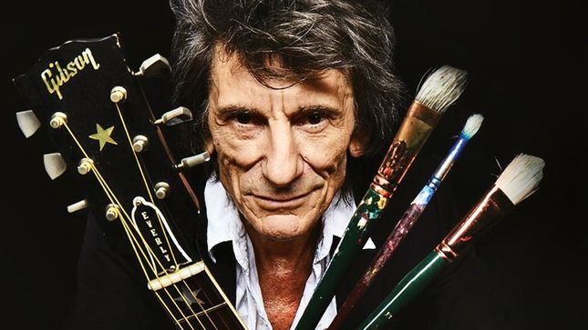 ROLLING STONES Guitarist RONNIE WOOD To Exhibit Artworks At England's Ashridge House