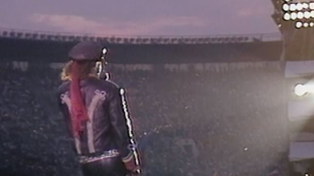 "SCORPIONS - Rare 1989 Live Performance Of ""Holiday"" From Moscow Music Peace Festival Unearthed (Video)"