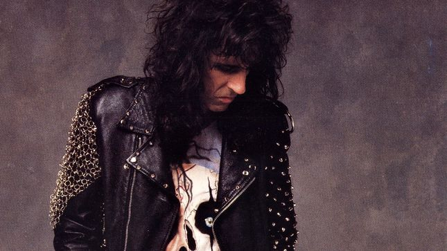 ALICE COOPER - Limited 30th Anniversary Edition Of Trash Album To Be Released On Silver & Black Marbled Vinyl