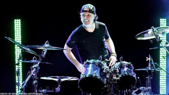"METALLICA Drummer LARS ULRICH Looks Back On Supporting THE ROLLING STONES - ""An Inspiring And Memorable Experience'"