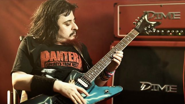 "MARKBAG_33 - Disabled Guitarist Pays Tribute To DIMEBAG DARRELL And VINNIE PAUL With Cover Of PANTERA's ""This Love""; Video"