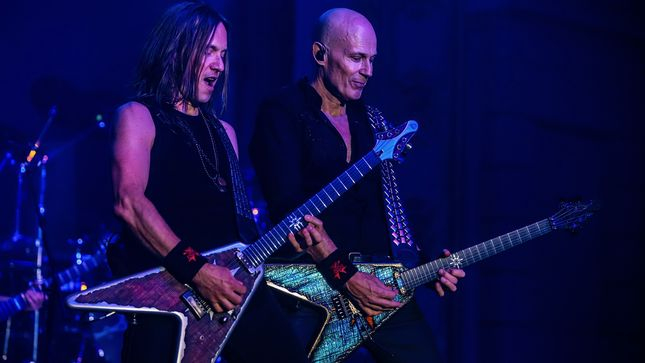 """Guitarist PHILIP SHOUSE On Joining ACCEPT, Hardest Song To Perform – """"�Fast As A Shark' Is A Really Difficult Song To Play"""""""