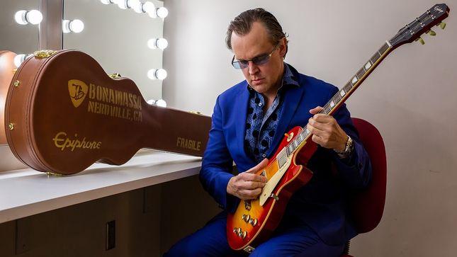 joe bonamassa and epiphone announce seventh signature guitar with 1960 les paul standard norm