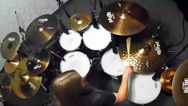 "BEYOND CREATION Release ""Surface's Echoes"" Drum Playthrough Video"
