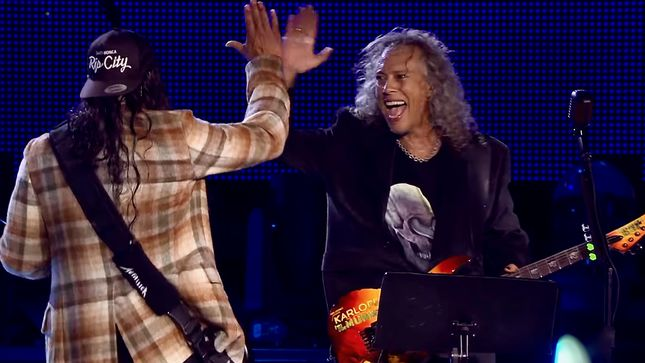 METALLICA's Robert Trujillo & Kirk Hammett Perform IVAN MLГЃDEK Classic In Prague; Video