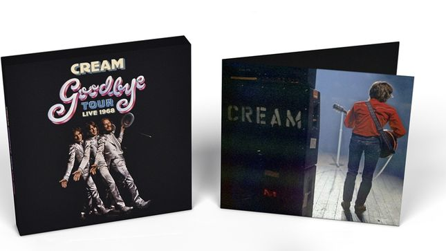 CREAM - Goodbye Tour Live 1968 4CD Box Set To Be Released In February; Includes Unreleased Material