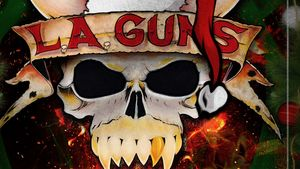 "L.A. GUNS Feat. PHIL LEWIS & TRACII GUNS Streaming Cover Of SLADE's ""Merry Xmas Everybody"""