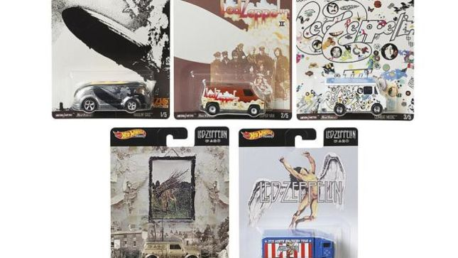 LED ZEPPELIN - Hot Wheels Car Collection Announced