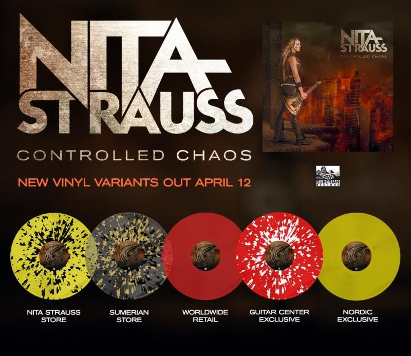 NITA STRAUSS To Release Controlled Chaos On Vinyl