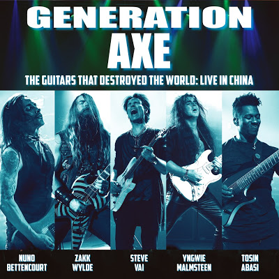 STEVE VAI Talks Covering QUEEN On GENERATION AXE Tour