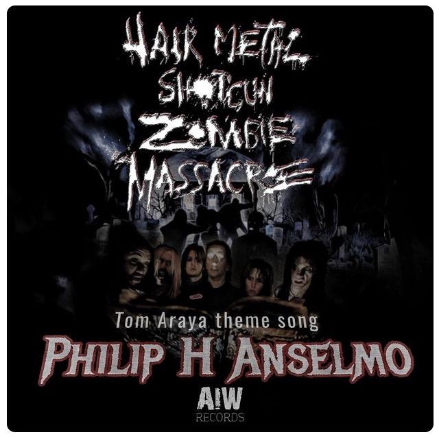 Philip H Anselmo S Tom Araya Theme Song From Hair Metal Shotgun
