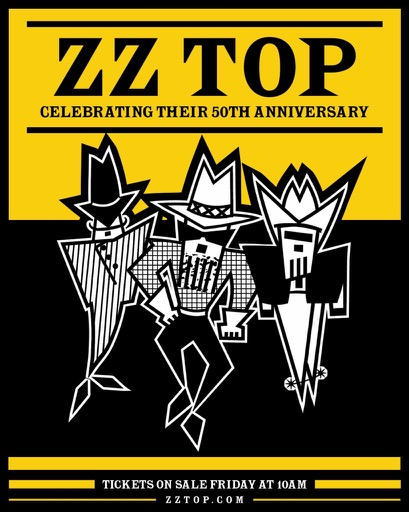 Zz Top To Embark On 50th Anniversary North American Tour
