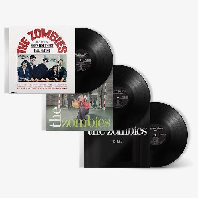 REEDICIONES EN VINILO DE 3 LPS DE THE ZOMBIES