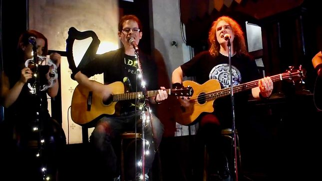 DAVID ELLEFSON Performs With MEGADETH Tribute Band MELLOWDETH; Video, Photos