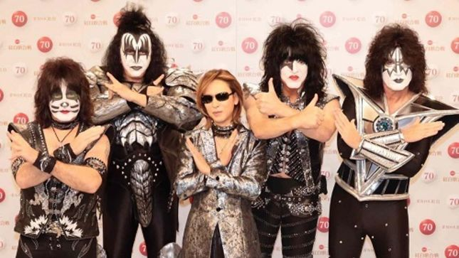 YOSHIKI And KISS - Video Of Once-In-A-Lifetime Worldwide TV Performance On New Year's Eve 2019 Posted