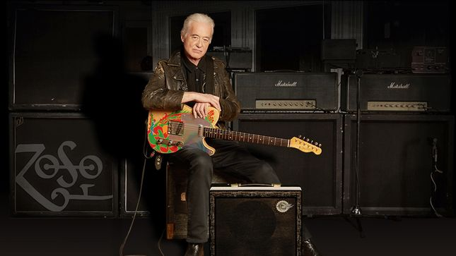 JIMMY PAGE Announces Standard Production Model Of Sundragon Amplifier