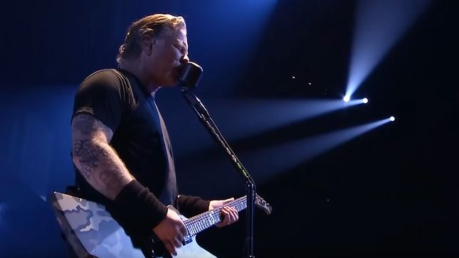 "METALLICA Performs ""Ride The Lightning"" In Cincinnati; HQ Video Streaming"