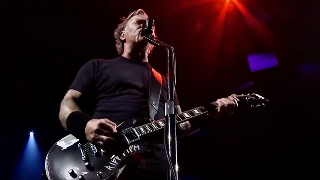 "METALLICA Release ""Now That We're Dead"" HQ Performance Video From Lubbock, Texas"