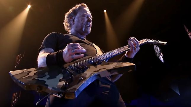 "METALLICA Release ""Here Comes Revenge"" HQ Performance Video From Wichita, Kansas"