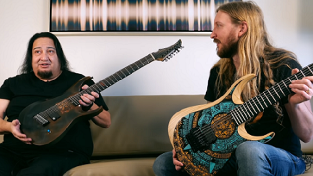 "THE HAUNTED Guitarist OLA ENGLUND Posts New Episode Of ""Coffee With Ola"" Featuring FEAR FACTORY Guitarist DINO CAZARES (Video)"