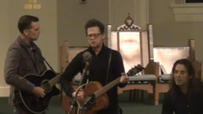 Former METALLICA Bassist JASON NEWSTED & The Chophouse Band Perform Live In Florida; Amateur Video