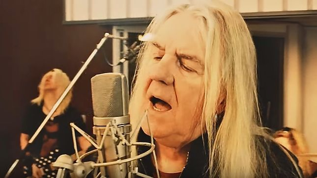 "SAXON Frontman BIFF BYFORD Celebrates St. Valentine's Day With Music Video For Romantic New Single ""Me And You"""