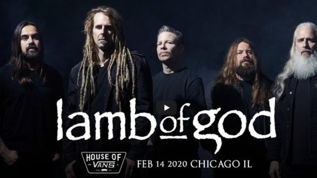 LAMB OF GOD Return To The Stage In Chicago; Full Show Streaming
