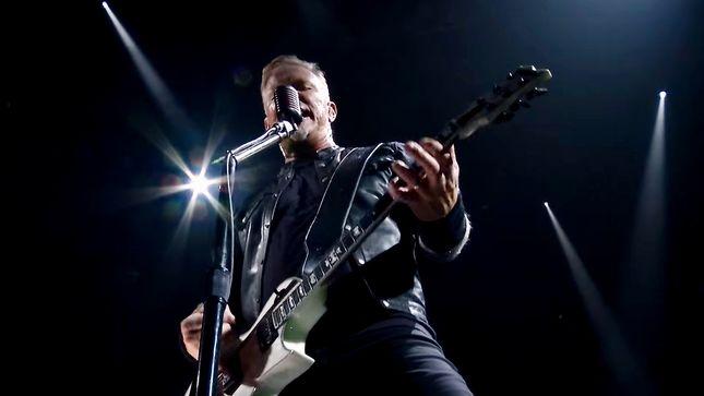 "METALLICA Release ""Enter Sandman"" HQ Performance Video From Lyon, France"