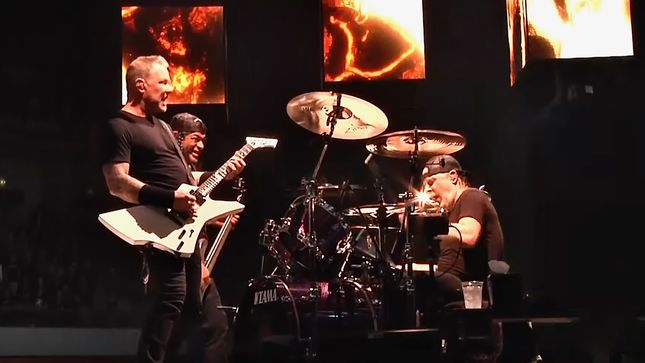 """METALLICA Perform """"Halo On Fire"""" In Lisbon; HQ Video Streaming"""