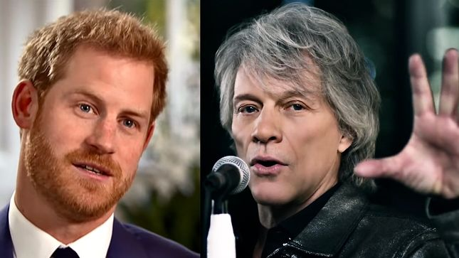 PRINCE HARRY To Sit In On Recording Session With JON BON JOVI At Abbey Road Studios On Friday; Video