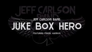 "JEFF CARLSON BAND Covers FOREIGNER Classic ""Juke Box Hero"" Featuring TESLA's FRANK HANNON"