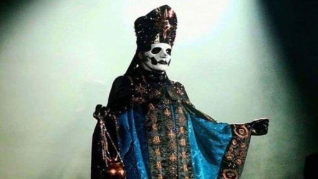 GHOST Bid Farewell To CARDINAL COPIA, Introduce PAPA EMERITUS IV At Mexico City Show (Video)