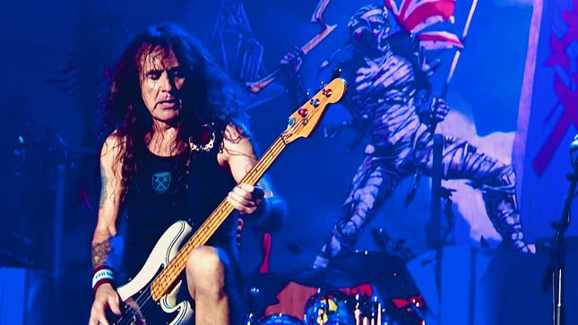 "IRON MAIDEN Bassist STEVE HARRIS On His Abundance Of Musical Ideas - ""I've Got Too Many To Use In My Lifetime""; Audio"