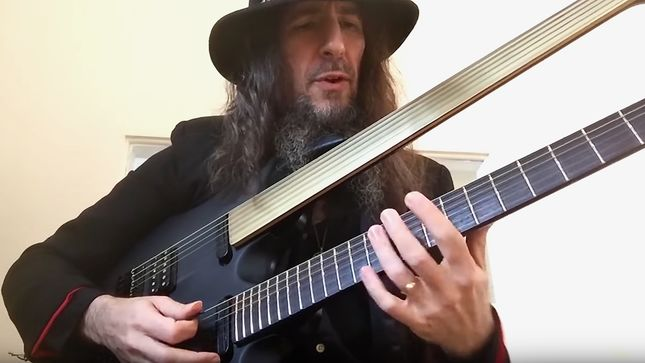 SONS OF APOLLO Guitarist BUMBLEFOOT Teaches You How To Play