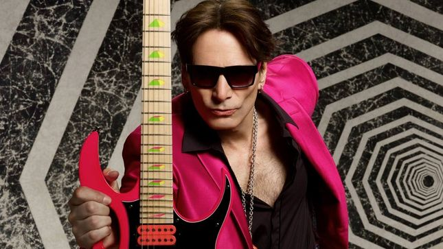 STEVE VAI To Stage Two Live Q&A Sessions Weekly For Global Fan Base