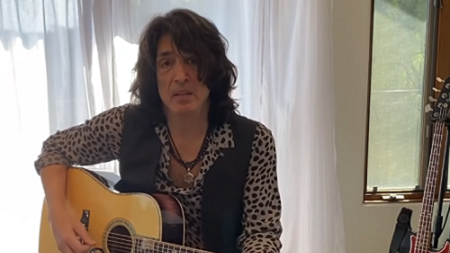 "KISS Frontman PAUL STANLEY Posts New Video From Home, Talks Origin Of ""Everytime I Look At You"""