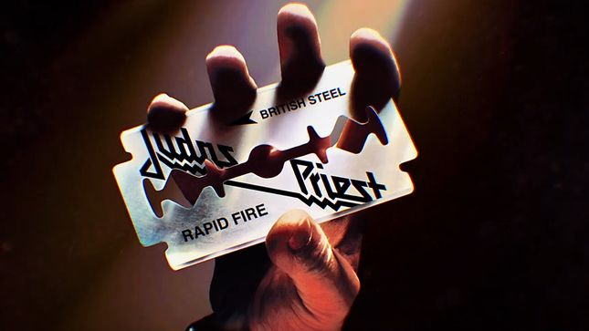 """JUDAS PRIEST Debut New Visualizer For British Steel Classic """"Rapid Fire"""""""