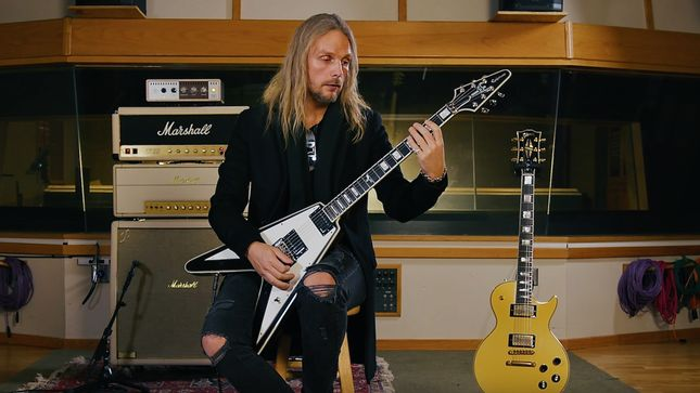 "JUDAS PRIEST Guitarist RICHIE FAULKNER Featured In Premier Episode Of Gibson TV Original Series ""Riff Lords""; Video"