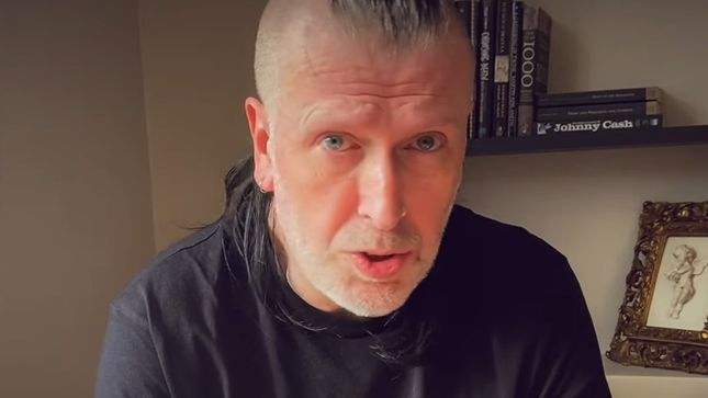 Watch PARADISE LOST Guitarist Gregor Mackintosh Talk About His Top 5 Essential Items To Get Through The Lockdown